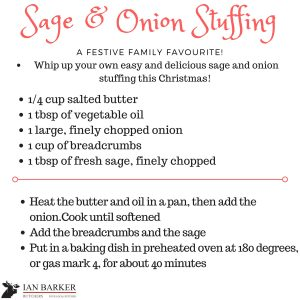 Barker Butchers - Sage & Onion Stuffing