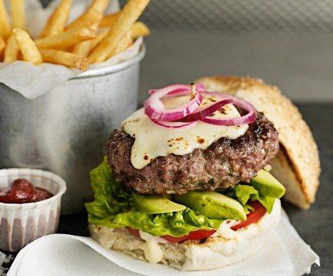 National burger day recipe