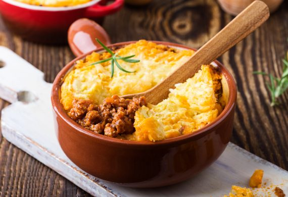 Shepherd's pie autumn recipe