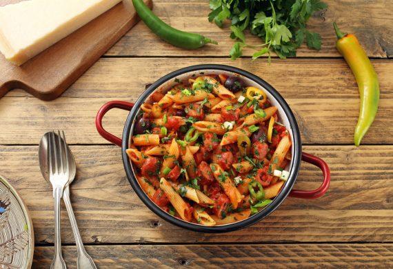 IBB-Spicy-sausage-pasta